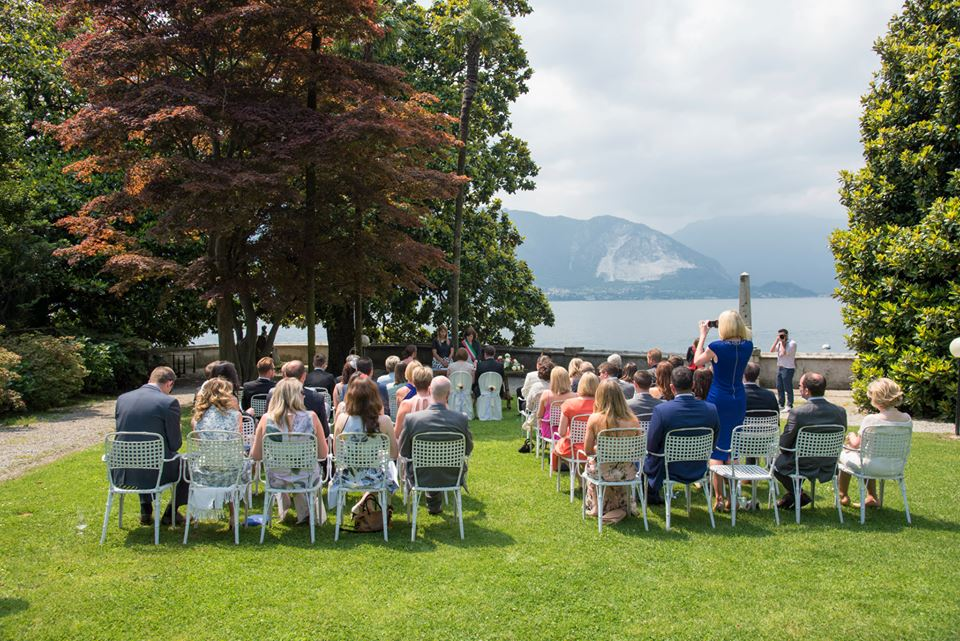 Wedding ceremony Lake Maggiore